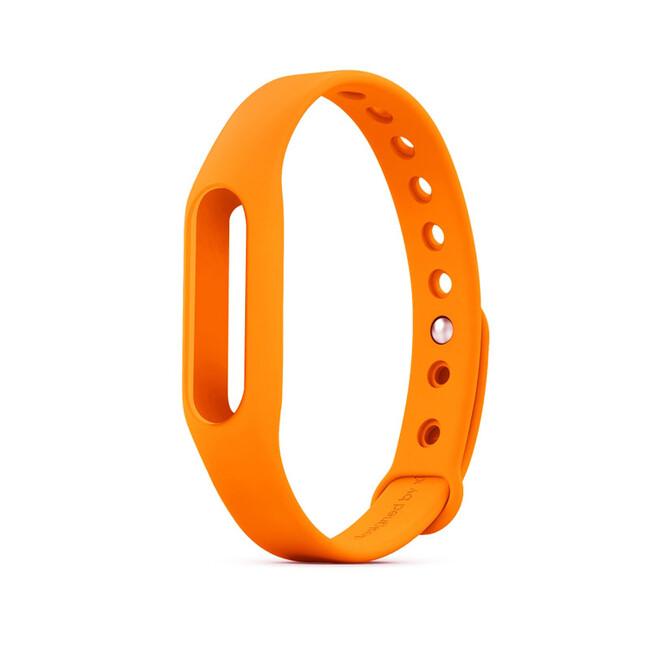Оранжевый ремешок для фитнес-браслета Xiaomi Mi Band Pulse 1S