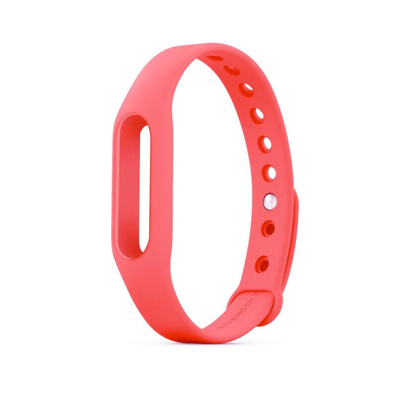 Розовый ремешок для фитнес-браслета Xiaomi Mi Band Pulse 1S