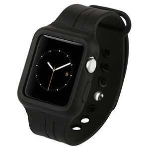 Купить Ремешок-чехол Baseus Fresh-Color Plus Black для Apple Watch Series 1/2/3 38mm