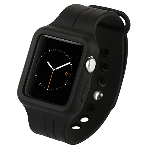 Ремешок-чехол Baseus Fresh-Color Plus Black для Apple Watch 42mm
