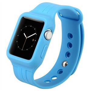 Купить Ремешок-чехол Baseus Fresh-Color Plus Blue для Apple Watch Series 1/2/3/3 42mm