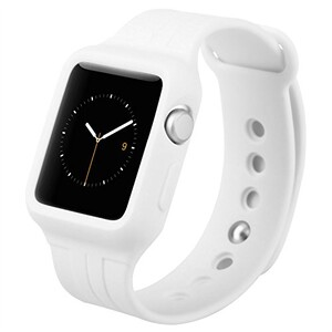 Купить Ремешок-чехол Baseus Fresh-Color Plus White для Apple Watch Series 1/2/3/3 38mm