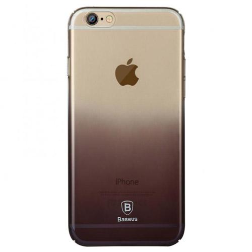 Ультратонкий чехол Baseus Gradient Case Black для iPhone 6/6s