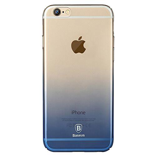 Ультратонкий чехол Baseus Gradient Case Blue для iPhone 6/6s