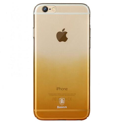 Ультратонкий чехол Baseus Gradient Case Gold для iPhone 6/6s