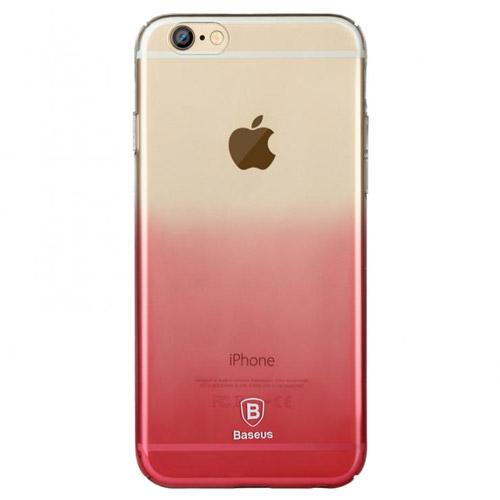 Ультратонкий чехол Baseus Gradient Case Pink для iPhone 6/6s