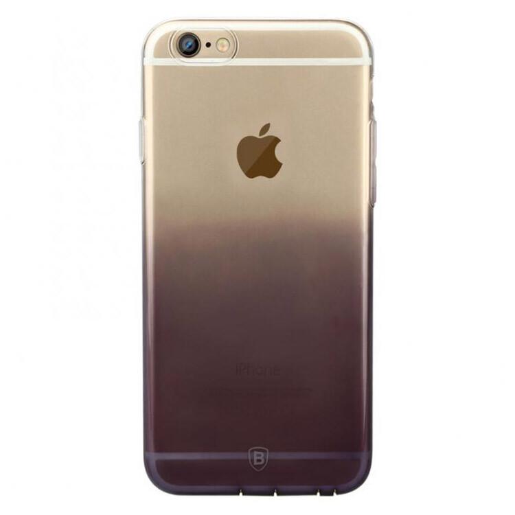 Ультратонкий чехол Baseus Illusion Case Black для iPhone 6/6s