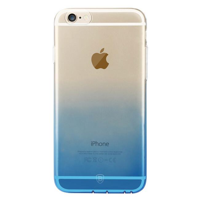 Ультратонкий чехол Baseus Illusion Case Blue для iPhone 6/6s