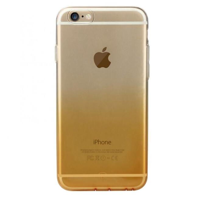 Ультратонкий чехол Baseus Illusion Case Gold для iPhone 6/6s