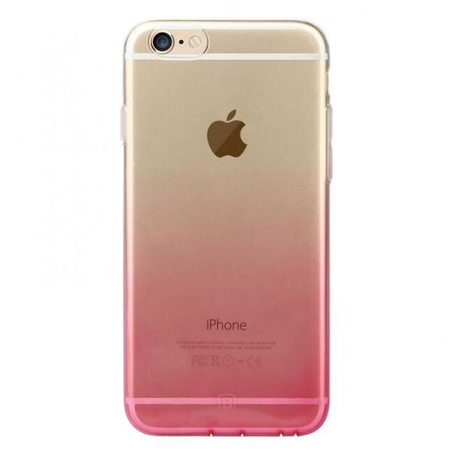 Ультратонкий чехол Baseus Illusion Case Pink для iPhone 6/6s