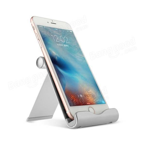 Регулируемая подставка Baseus Joyous Series Silver для iPhone/iPad