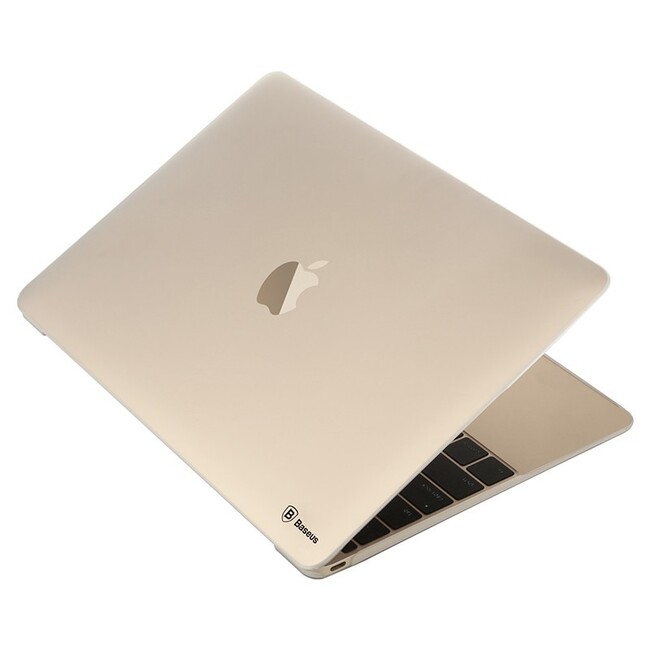 """Прозрачный чехол Baseus SKY CASE 0.7mm для MacBook 12"""""""