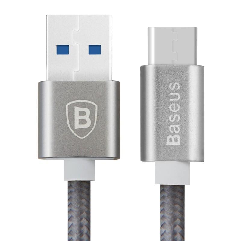 Кабель Baseus USB 3.1 Type C to USB 3.0 Sharp Series Grey