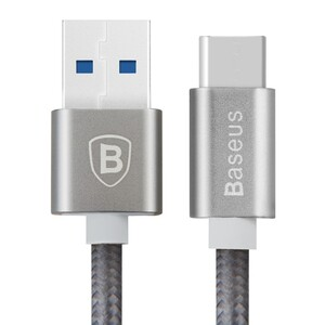 Купить Кабель Baseus USB 3.1 Type C to USB 3.0 Sharp Series Grey