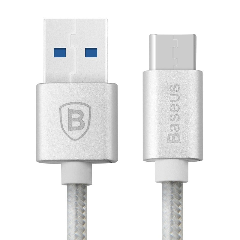 Кабель Baseus USB 3.1 Type C to USB 3.0 Sharp Series Silver