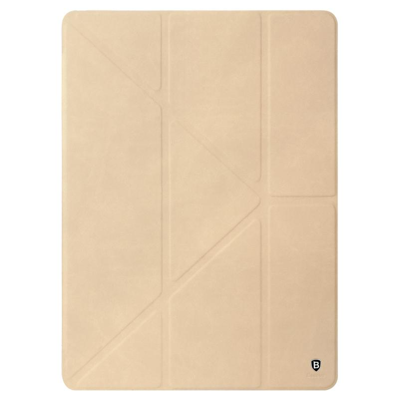 """Купить Кожаный чехол Baseus Terse Series Khaki для iPad Pro 12.9"""""""