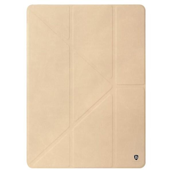 "Кожаный чехол Baseus Terse Series Khaki для iPad Pro 12.9"""