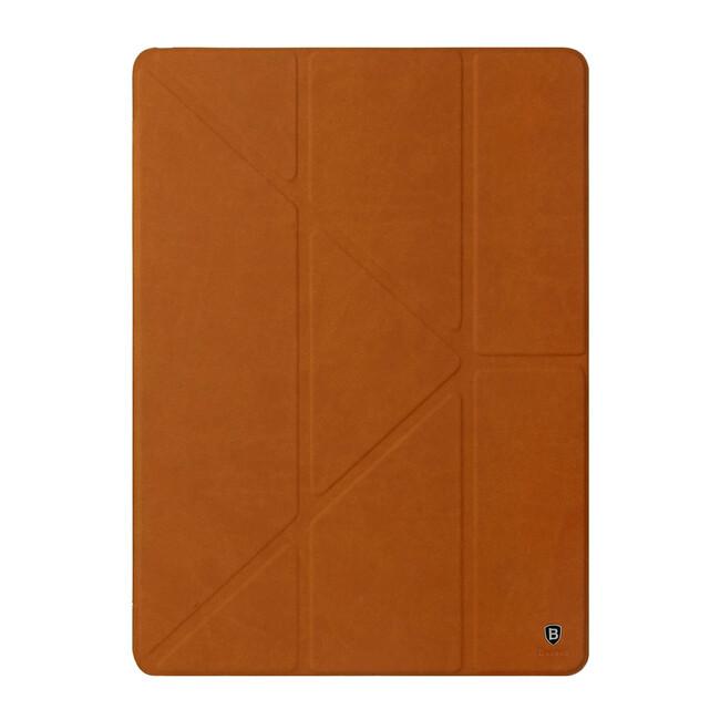 "Кожаный чехол-подставка Baseus Terse Series Brown для iPad Pro 9.7"""