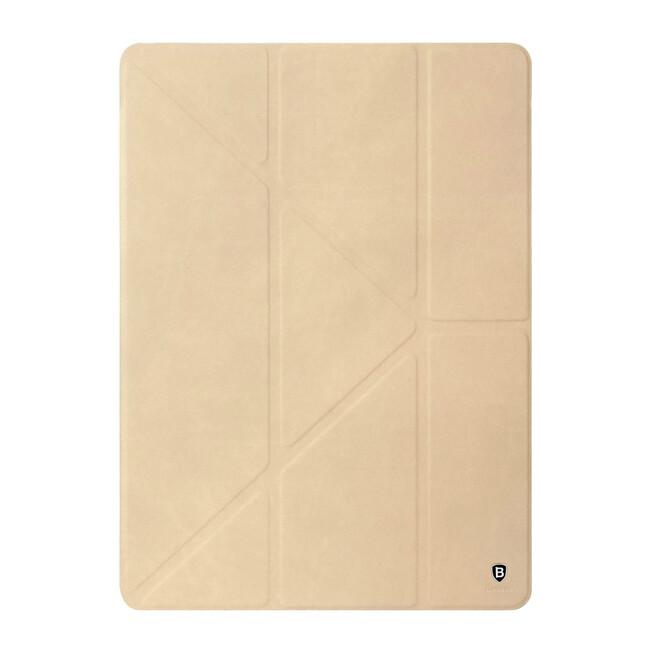 "Кожаный чехол-подставка Baseus Terse Series Khaki для iPad Pro 9.7"""