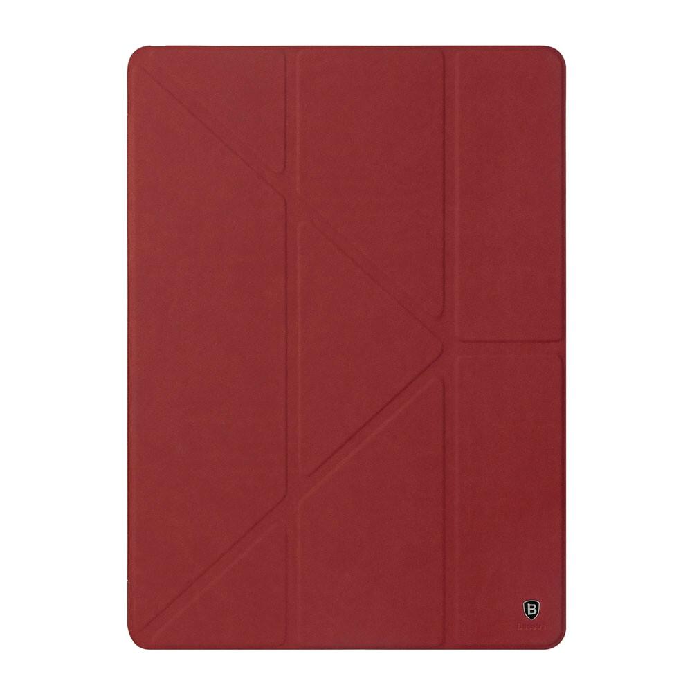 """Кожаный чехол-подставка Baseus Terse Series Red для iPad Pro 9.7"""""""