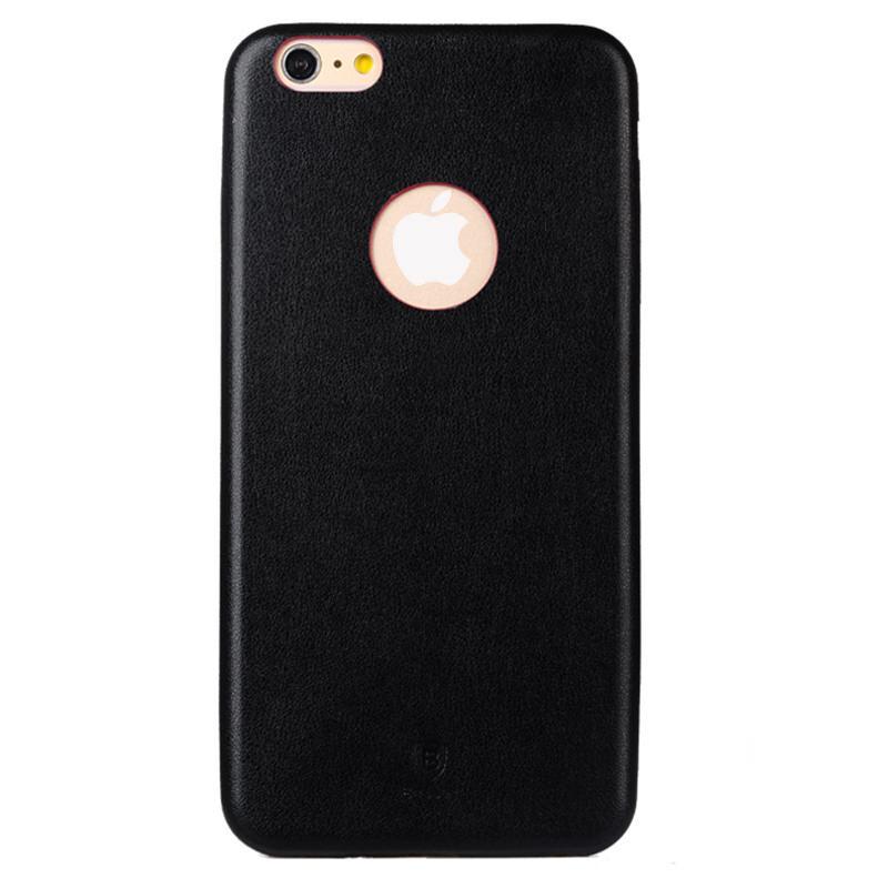 Ультратонкий кожаный чехол Baseus Thin Case 1mm Black для iPhone 6 Plus/6s Plus