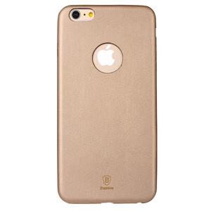 Купить Ультратонкий кожаный чехол Baseus Thin Case 1mm Gold для iPhone 6/6s Plus