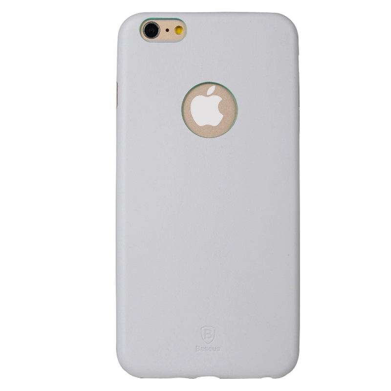 Ультратонкий кожаный чехол Baseus Thin Case 1mm White для iPhone 6 Plus/6s Plus
