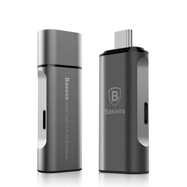 Адаптер Baseus USB 3.1 Type-C to USB 3.0/Charging