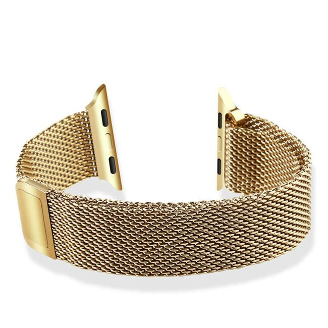 Ремешок Baseus Milanese Golden для Apple Watch 38mm Series 1/2