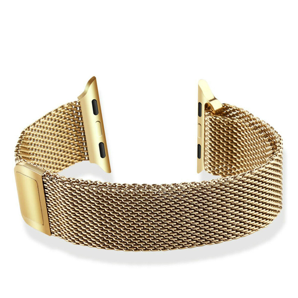 Ремешок Baseus Milanese Golden для Apple Watch 42mm Series 1/2