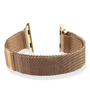 Купить Ремешок Baseus Milanese Rose Gold для Apple Watch 38mm Series 1/2/3