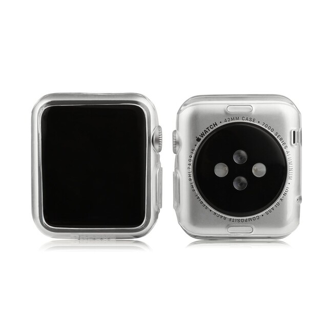 Чехол Baseus Simple TPU Clear для Apple Watch Series 1 & 2 38mm