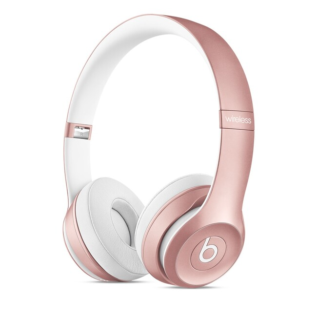 Наушники Beats Solo2 Wireless On-Ear Rose Gold