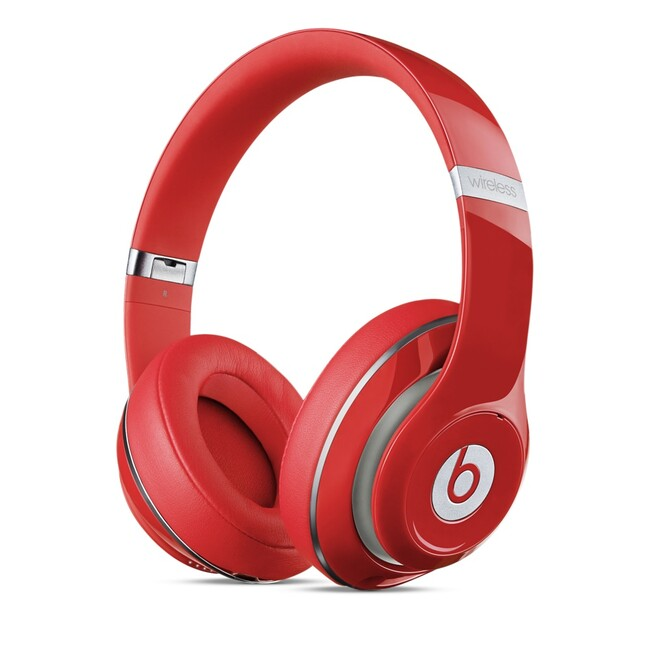 Наушники Beats Studio2 Wireless Over-Ear Red