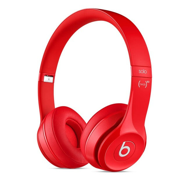 Наушники Beats by Dr. Dre Solo2 On-Ear (PRODUCT) Red