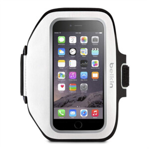 Купить Спортивный чехол Belkin Sport-Fit Plus Armband Whiteout для iPhone 6 Plus/6s Plus/7 Plus/8 Plus/X