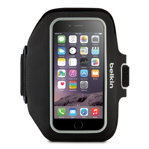 Купить Спортивный чехол Belkin Sport-Fit Plus Armband Blacktop для iPhone 6 Plus/6s Plus/7 Plus/8 Plus/X