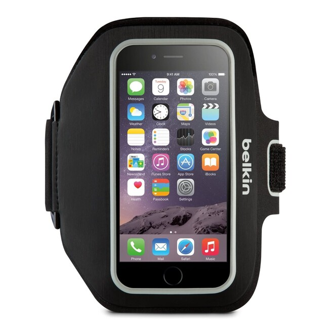 Спортивный чехол Belkin Sport-Fit Plus Armband Blacktop для iPhone 6/6s/7 Plus
