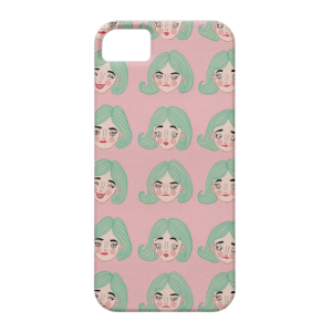 Купить Чехол BartCase Blue Hair для iPhone 5/5S/SE