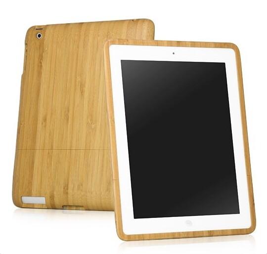 Бамбуковый чехол для iPad 4/3/2