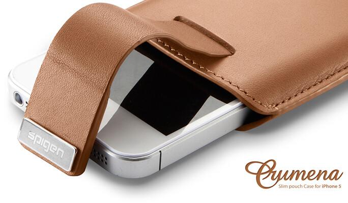 Кожаный чехол SGP Crumena для iPhone 5/5C/5S