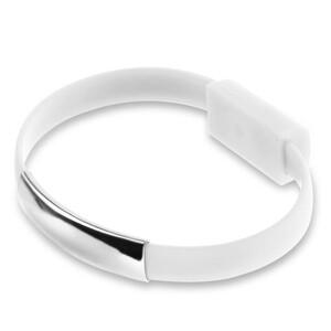 Купить Браслет-кабель EECX V8 Lightning White для iPhone/iPad/iPod