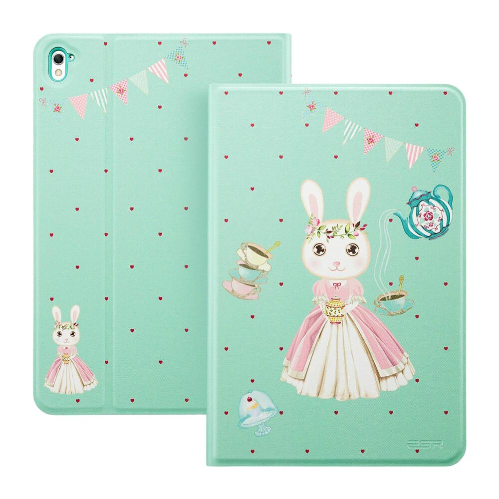 """Кожаный чехол ESR Character Bunny Teahouse для iPad Pro 9.7"""""""