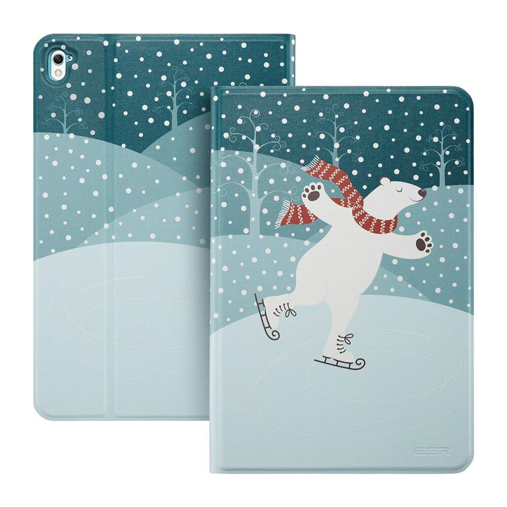 "Кожаный чехол ESR Character Skating Bear для iPad Pro 9.7"""