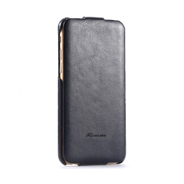 Черный флип-чехол HOCO Floveme для iPhone 6/6s Plus