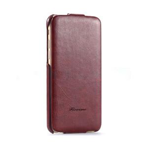 Купить Коричневый флип-чехол HOCO Floveme для iPhone 6/6s Plus