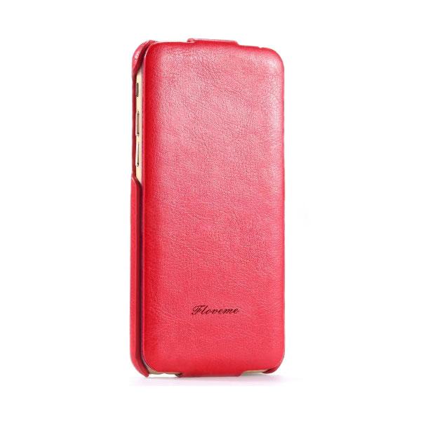 Красный флип-чехол HOCO Floveme для iPhone 6/6s Plus
