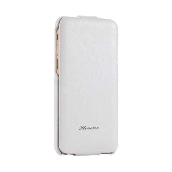 Белый флип-чехол HOCO Floveme для iPhone 6/6s Plus