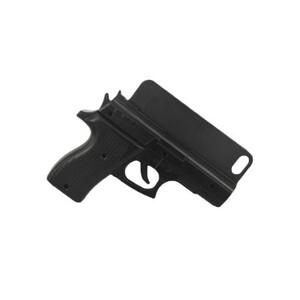Купить 3D чехол-пистолет Gun Black для iPhone 5/5S/SE