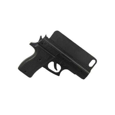 3D чехол-пистолет Gun Black для iPhone 5/5S/SE